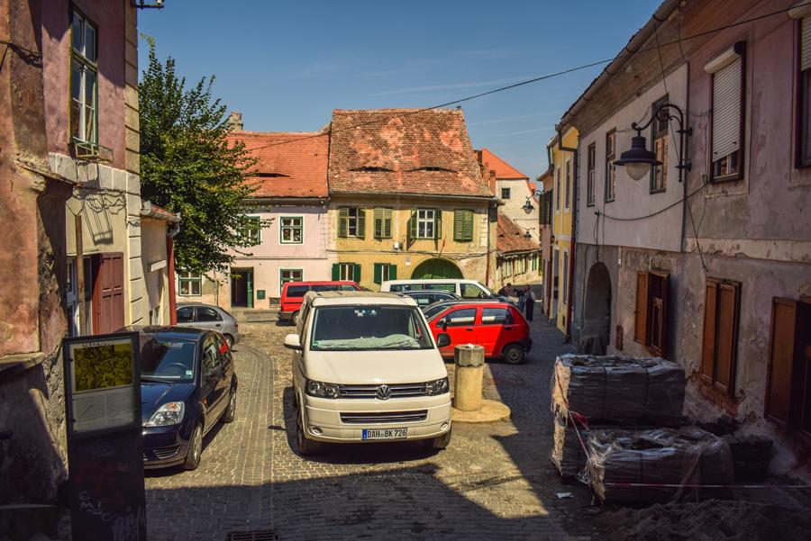 Sibiu, Romania - Piata Aurarilor