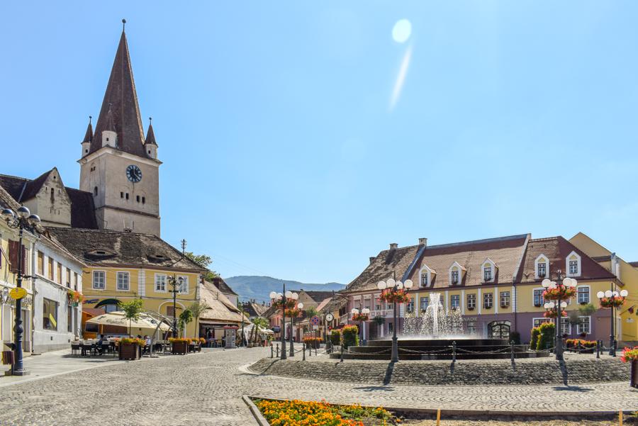 Biserica fortificată Cisnădie - Biserici Fortificate din zona Sibiu
