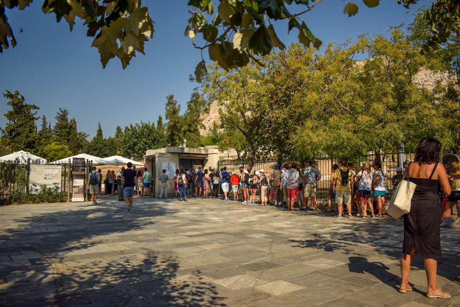 Obiective în Atena - Acropole