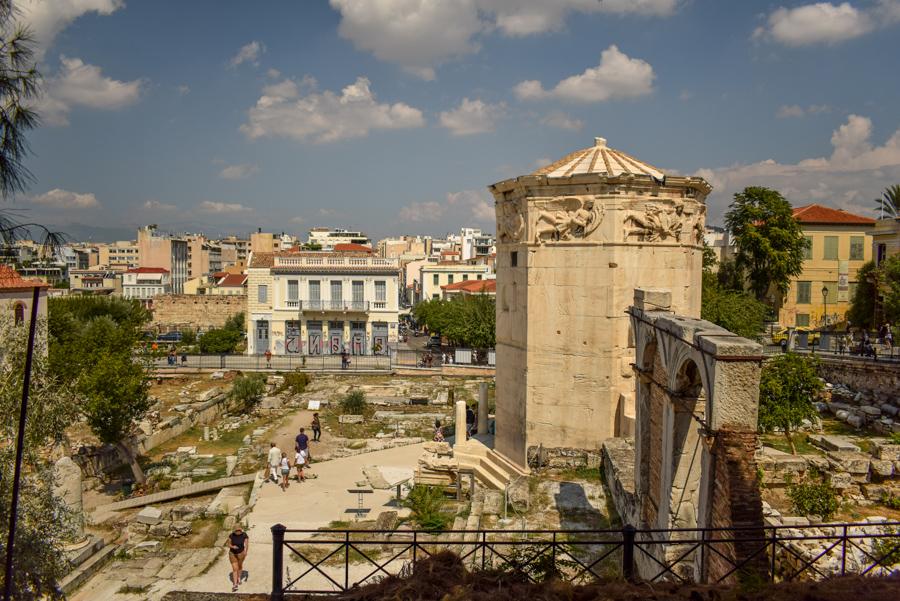 Obiective în Atena - Turnul Vânturilor