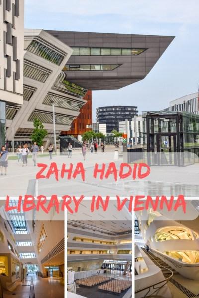 zaha hadid library in Vienna