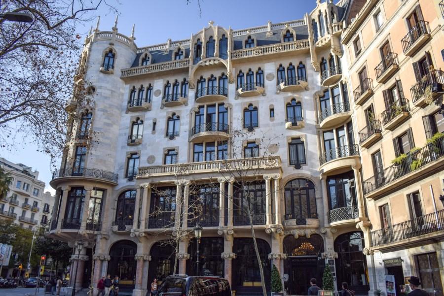Barcelona lui Domènech i Montaner - Casa Fuster