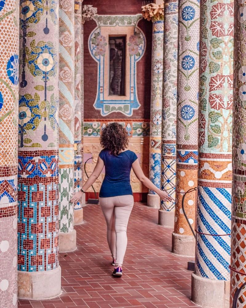 Barcelona lui Domènech i Montaner - Palau de la Musica Catalana