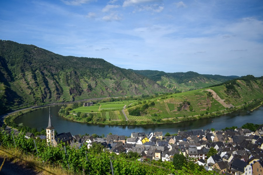 Râul Mosel din Germania
