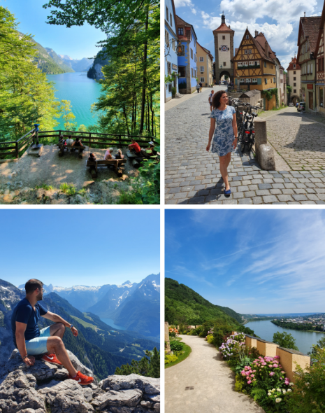 Cu Samsung Galaxy S10+ în Germania: orășele pitorești și peisaje de poveste