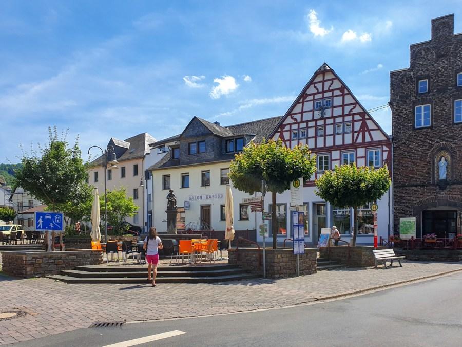 Râul Mosel din Germania - Treis Karden
