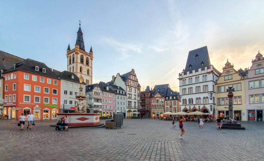 Râul Mosel din Germania - Trier