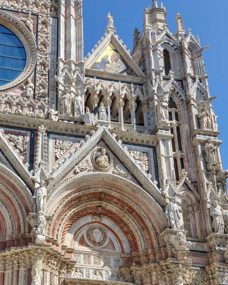 Catedrala din Siena - fațadă