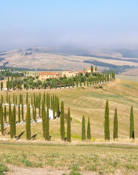 Asciano, Toscana