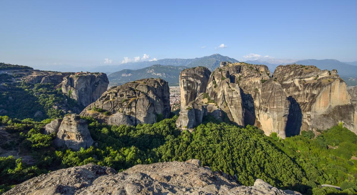 Fotografii la Meteora, Grecia