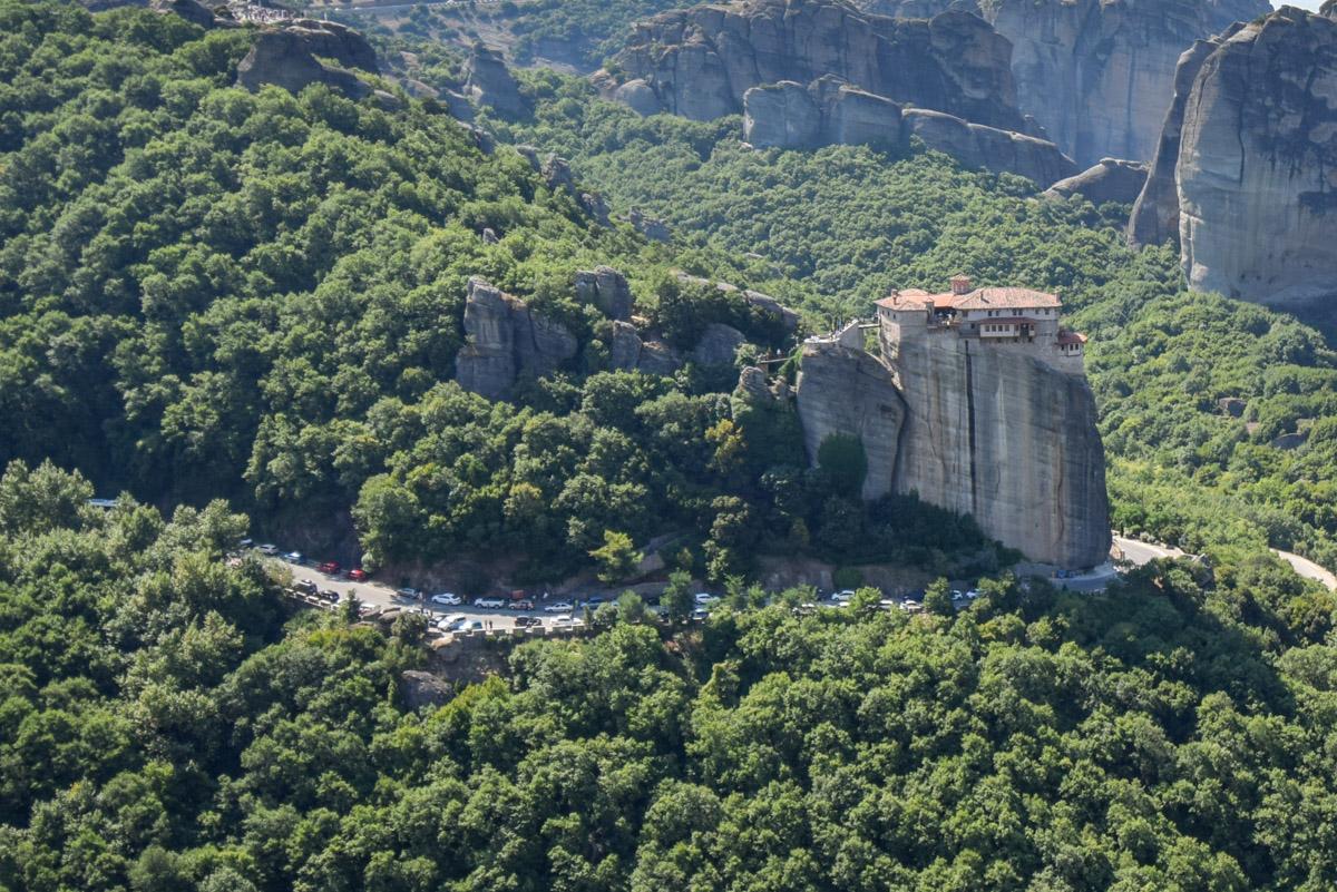 Manastirea Rousanou, Meteora, Grecia