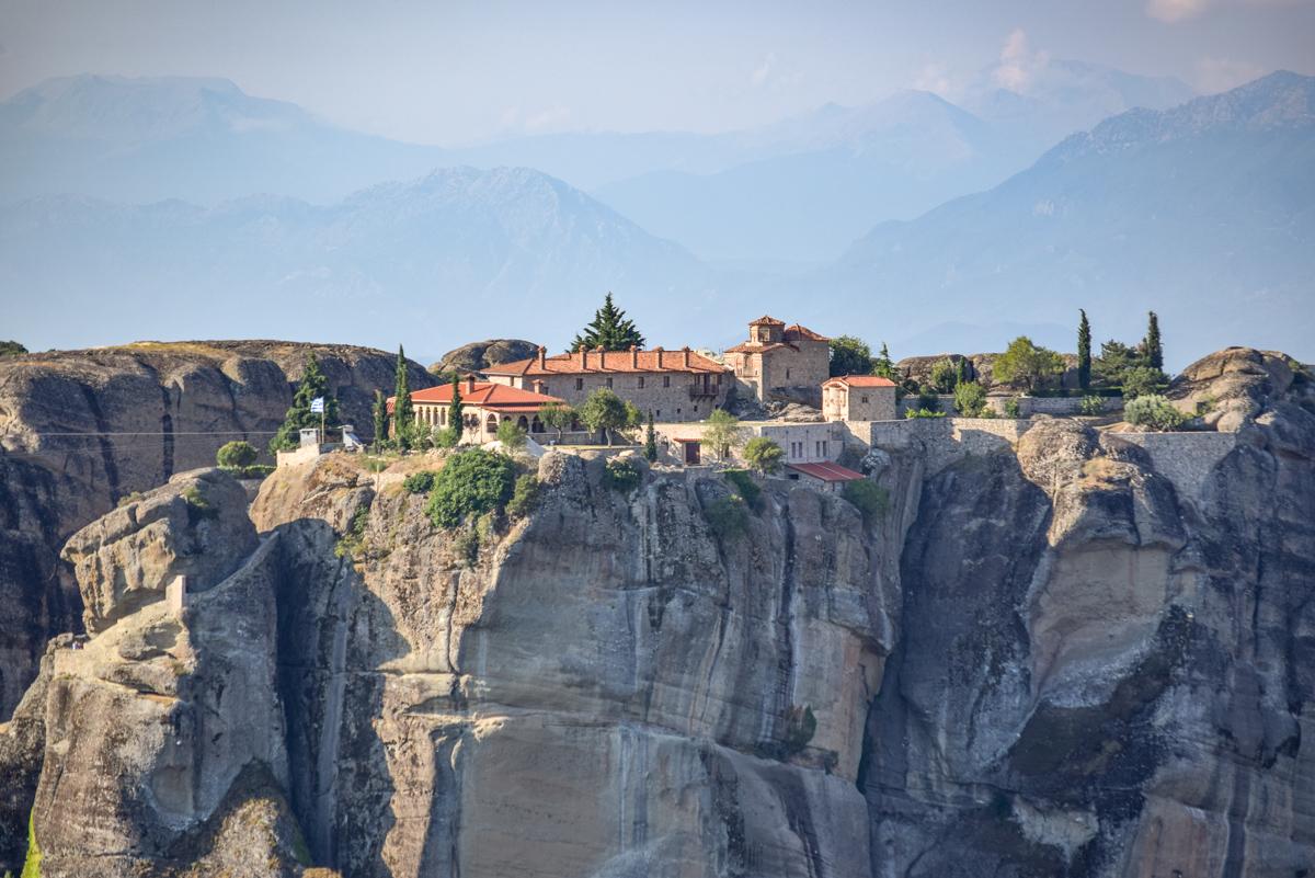 Manastirea Sfanta Treime, Meteora, Grecia