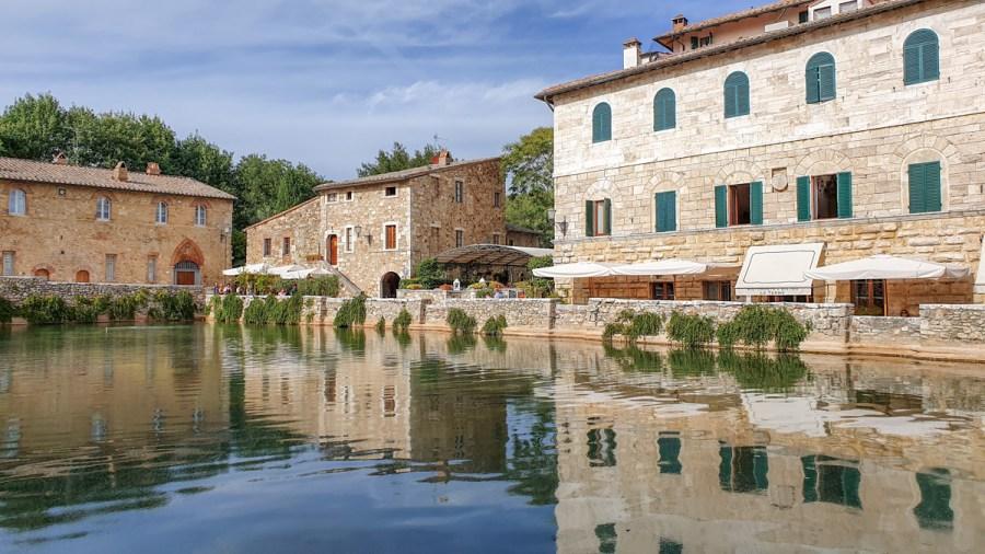 Bagno Vignoni, Val d'Orcia, Toscana