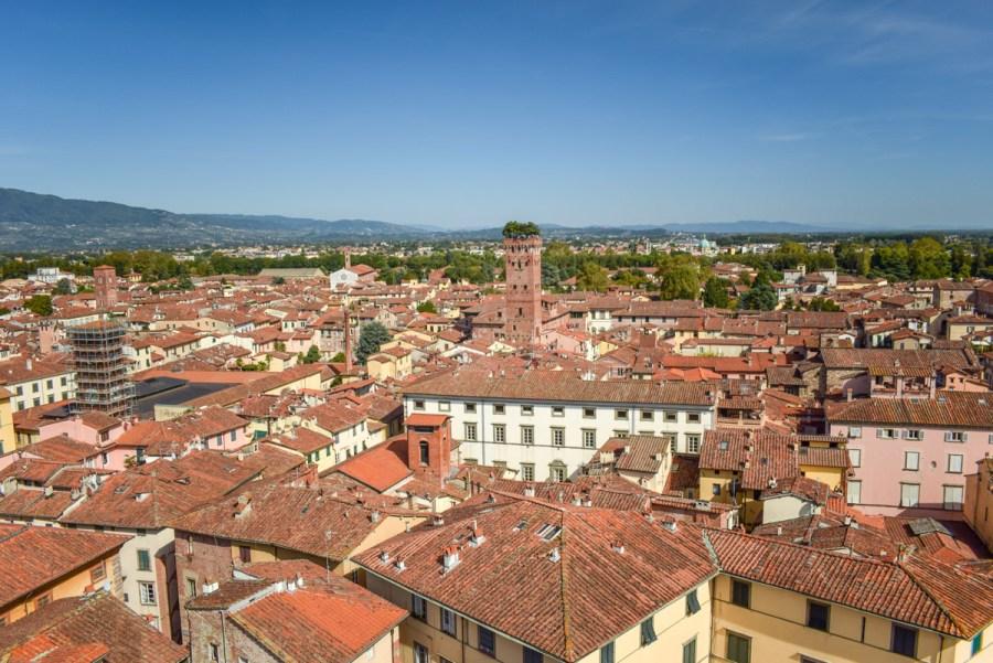 Torre Guinigi, Lucca, Italia
