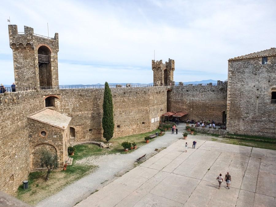 Fortezza di Montalcino, Toscana