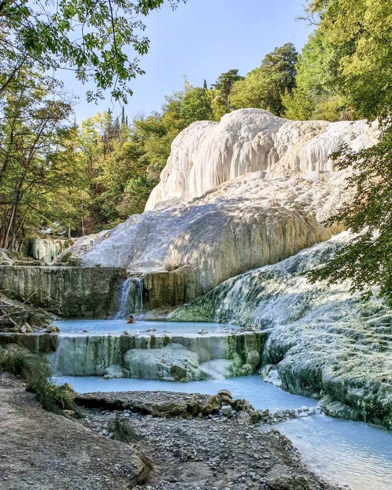 Bagni San Filipo, Toscana. Cele mai instagramabile locuri din Toscana