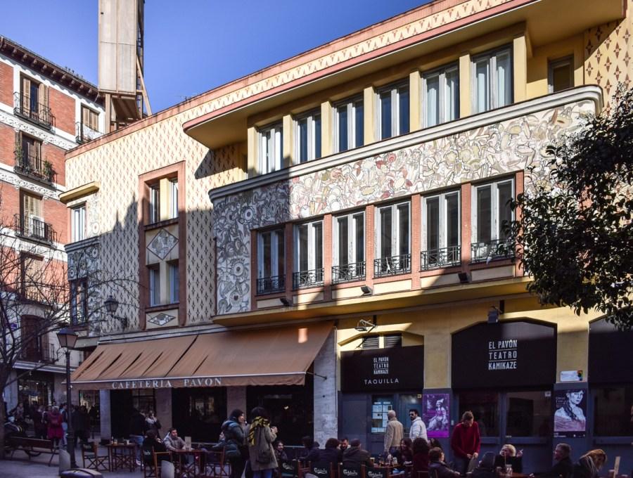 Cartierul Lavapies, Madrid