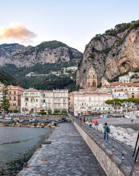 Coasta Amalfi - orășelul Amalfi