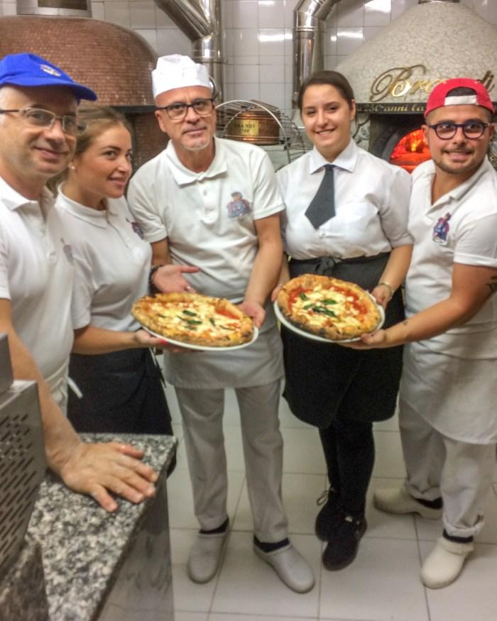 Pizza la Brandi, Napoli