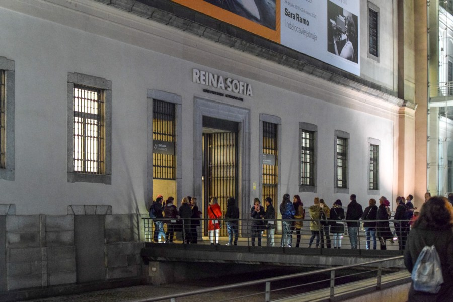 Muzeul Reina Sofia, Madrid