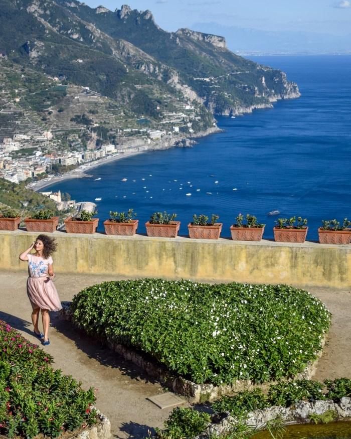 Obiective pe Coasta Amalfi - Villa Rufolo, Ravello