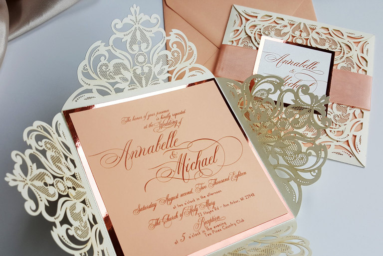 Of Designed With Amore A Stationery Design Studio Based In Fraser Michigan Specializing Customized Handmade Wedding Invitations And Paper Goods