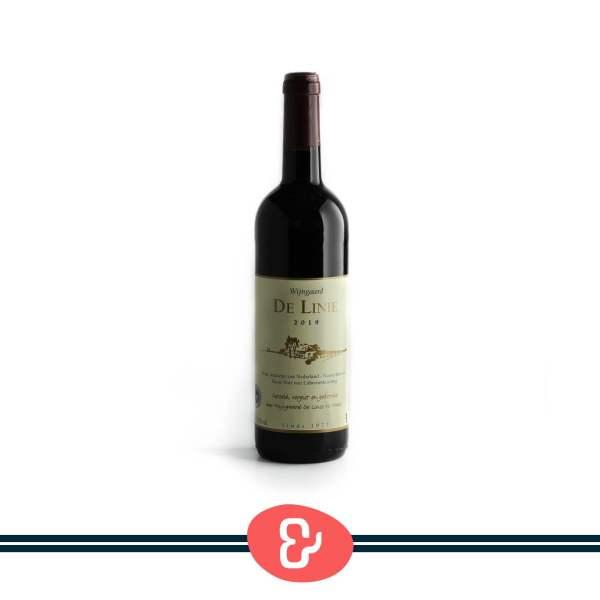 1 De Linie rood - Wijngaard De Linie - Nederlandse Wijn - Design & Wijn Amsterdam