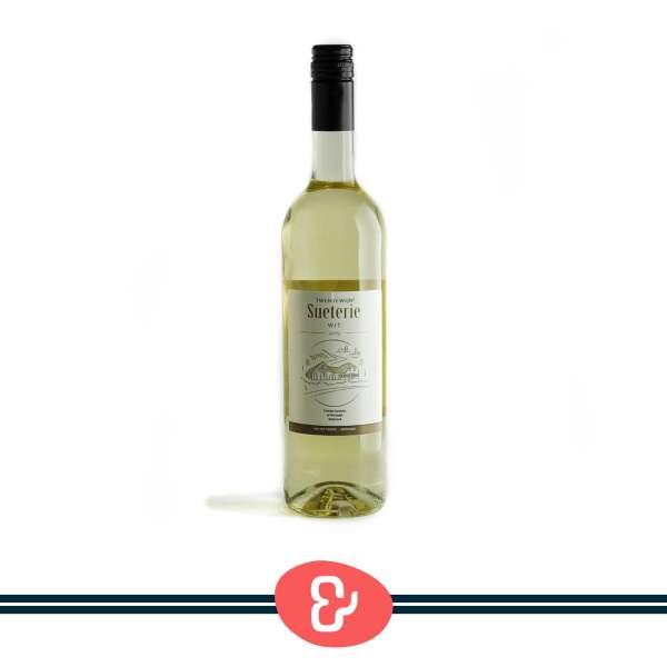 1 Sueterie wit - Twentewijn - Nederlandse Wijn - Design & Wijn Amsterdam