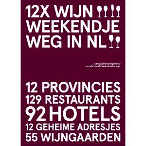 Cover 12x wijn weekendje weg in NL - Peetra van der Knaap - Design & Wijn Amsterdam