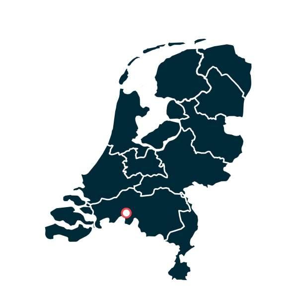 Dassemus - Landkaarten Nederlandse Wijn Oorsprong - Design & Wijn