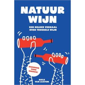 Cover Natuurwijn - Niels van Laatum - Design & Wijn Amsterdam