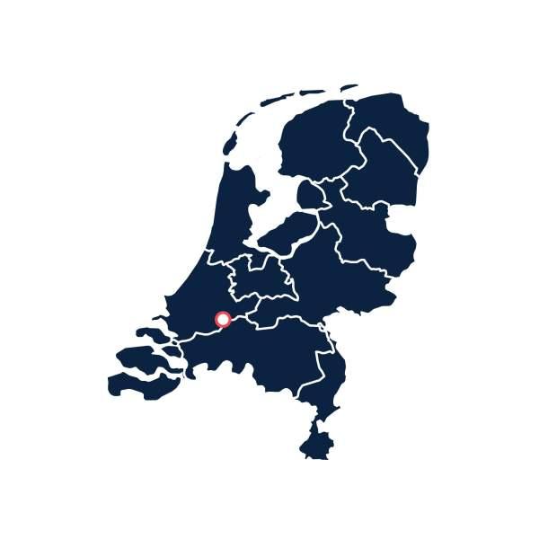 Wijngaard Bilderhof - Landkaart Nederlandse Wijn Oorsprong - Design & Wijn Amsterdam
