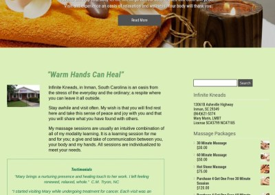 Infinite Kneads Massage Therapy