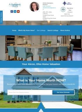 Akron Property Values