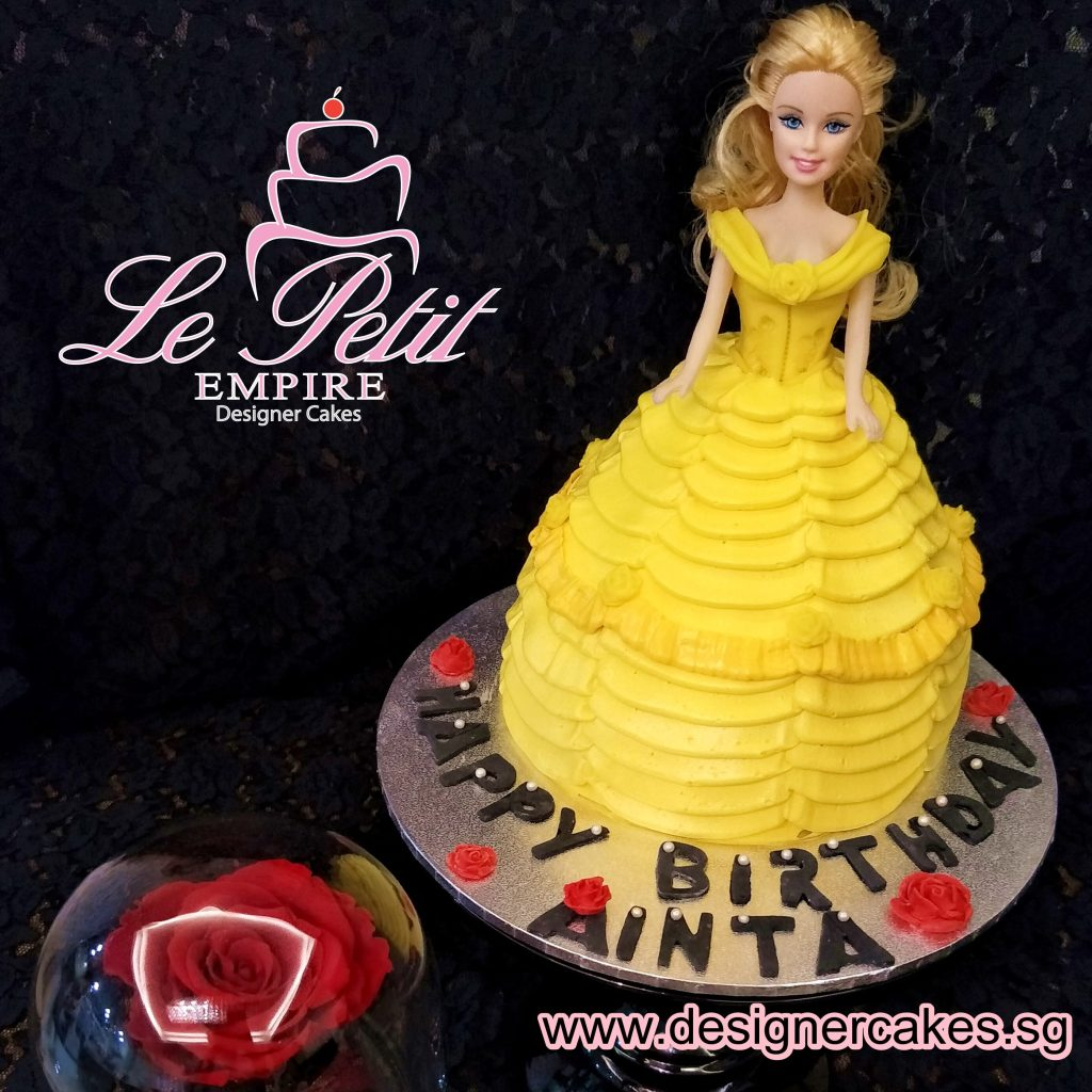Princess Doll 3D Dress Cake