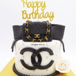 Money Pulling Cake Double C Luxury Branded Bag Theme