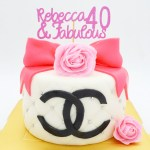 Cake Double C Luxury Branded Bag Theme