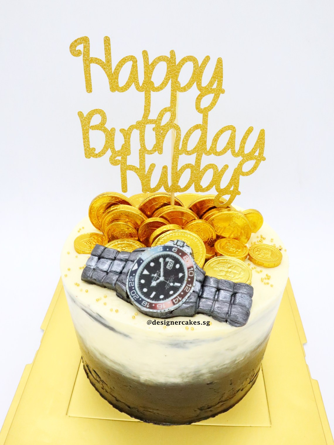 Mens Watch Ombre Cake
