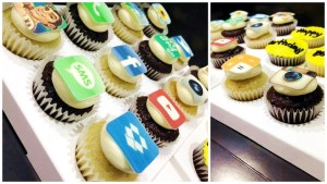 Mini Icons Cup Cakes