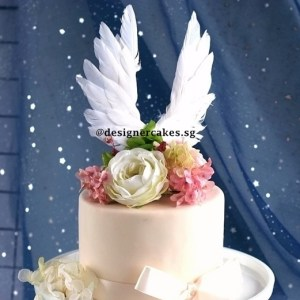 Cake Decorating Supplies - Wings Cake Toppers (Feather Wings)