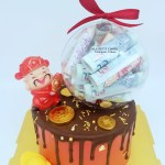Prosperity Drip Cake Money Ball