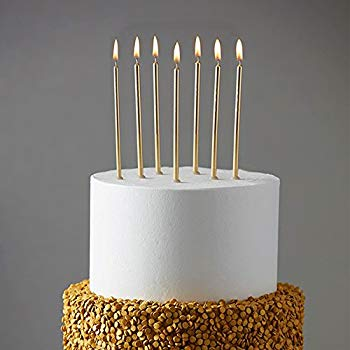 Long Gold Candles (2)