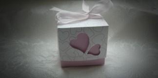 pink wedding favor