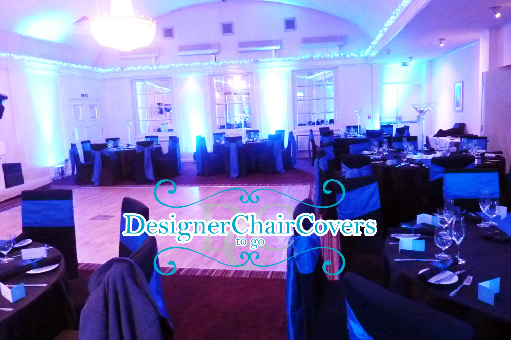 navy blue taffeta black covers designer chair covers to go