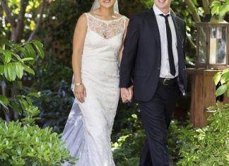 mark zuckerberg wedding marriage