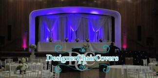 unique top table decor