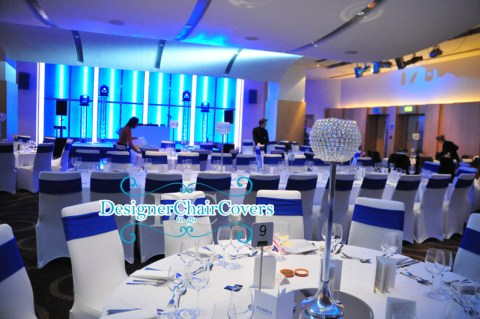 blue bands chair covers cumberland hotel london