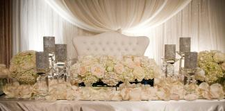 wedding loveseat