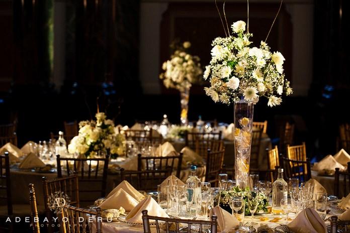 chiavari chairs charger plates nigerian wedding