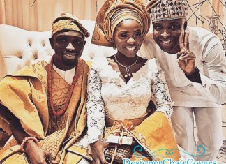 nigerian wedding sofa